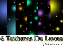 Pack de 6 Texturas de Luces by ShinoKanateru