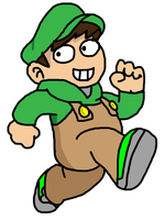 Edd as Mario - Should I say Eddio? by SuperSmash3DS