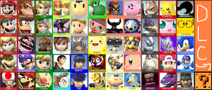 Super Smash Bros Frenzy Roster by KingDor65