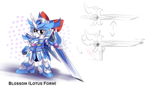 Blossom Lotus Form by Xzeit
