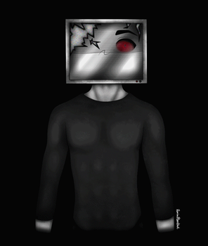 TV HEAD ANIMATION TEST by DamianBloodlust