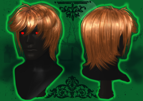 Male Hair Version 7 [XPS] by LexaKiness