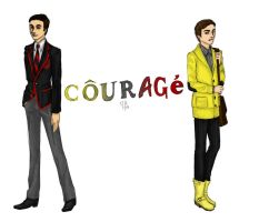 Courage by miryah