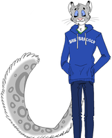 Fursona re-design by Katros