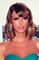 Taylor Swift | Turn Photos Into Digital Paintings by EcaJT
