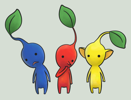 Pikmin by BrownKirby