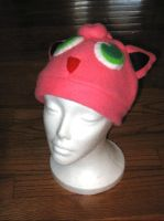 Jigglypuff Fleece Hat by nikkiswimmer