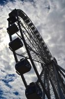 The Pier and the Ferris Wheel by Lucycolt