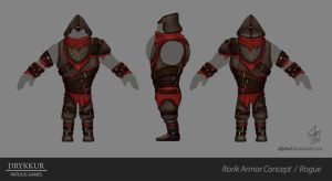 Rogue 2 Armor Concept by slipled