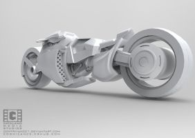 Sci Fi Bike Final Back by CatalanoMedia