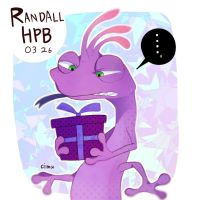 Happy birthday, Randall by asumachimu