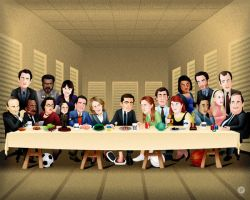 Michael Scott's Last Supper by sethart80