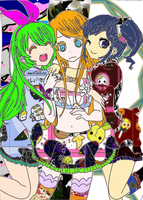 My OC's by chibimoon123