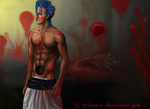 Grimmjow: Blood Lust by afsimart