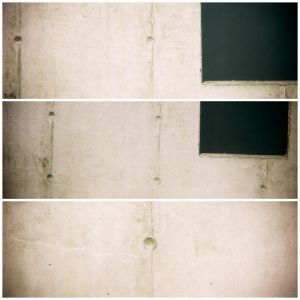 I (Wall with Squares) by Poromaa