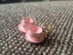 Tea Cup Earings by Luxembourg13