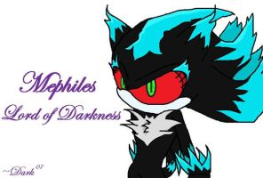 .:Mephiles:. Lord of Darkness by Dark-the-mysterious