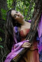 Carrie Anne in Silk 25 by LinzStock