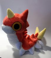 Pokemon - Wurmple custom plush by Kitamon
