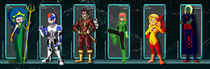 JUSTICE LEAGUE COLLAB by DRAKEFORD