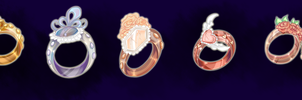 Adoptable Rings -CLOSED- by Dornenspieler