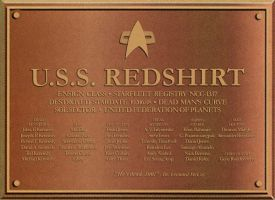 Funny Trek plaque by davemetlesits