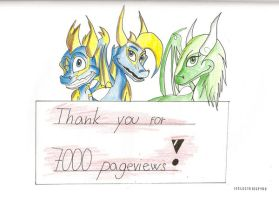 Thank you for 7000 pageviews by IcelectricSpyro
