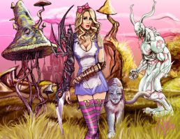 Alice the Warrior by scottssketches