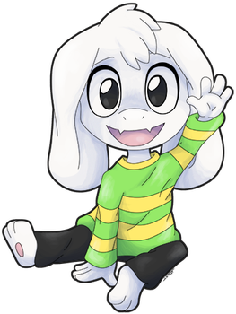 Asriel by Metal-CosxArt