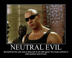 Neutral Evil Riddick by 4thehorde