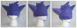 Gengar Pokemon Hat by cutekick