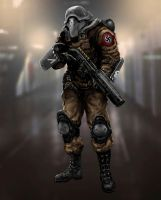 A German riot guard. by someone1fy