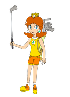 Daisy golf by ZeFrenchM