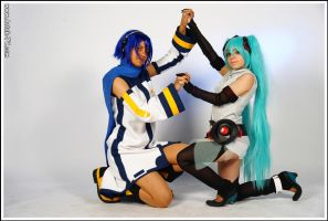 Photoshoot - Vocaloid 04 by Syl-Chan08