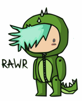 Scribble rawr by Death-of-all