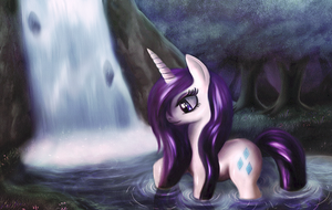 Waterfall Rarity by macalaniaa