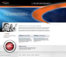 Kaptec Corporate website by irfanrahmed