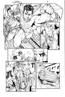 Superman Pencil test page 06 by Buchemi