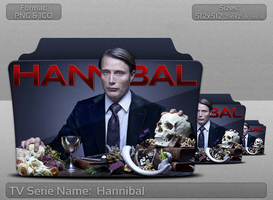 Hannibal - Tv Series Folder Icon by atty12