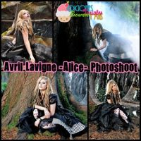 Photoshoot de Avril Lavigne -Alice- by Mica-Editions