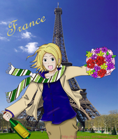 Art Swap: Paris France by HidanPuppy