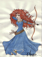 Merida by marionlalala