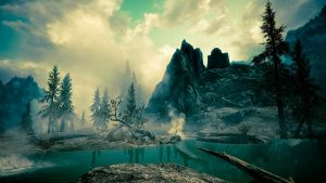 Alone in the Wild (Skyrim) by mattboggs