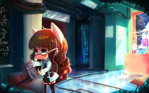 C: In the Lab by ehbi