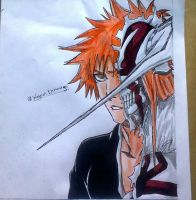 Ichigo by WagnerSK8Draw