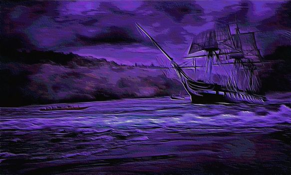Ghost Ship by montag451