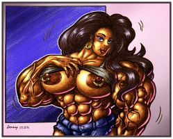 1412 Abs and Rings by Jennysartwork