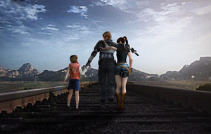 Resident Evil 2 Ending by neromatherson