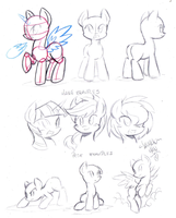 Pony reference guide by DANMAKUMAN