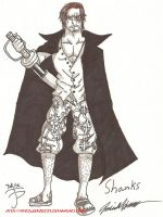 Day 6: Shanks by HyruleExorcist